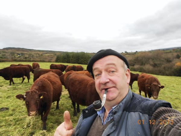 "PJ Ryan from Newport, Co Tipperary, who won the Farmers Journal ""Selfie on the farm"" competition."