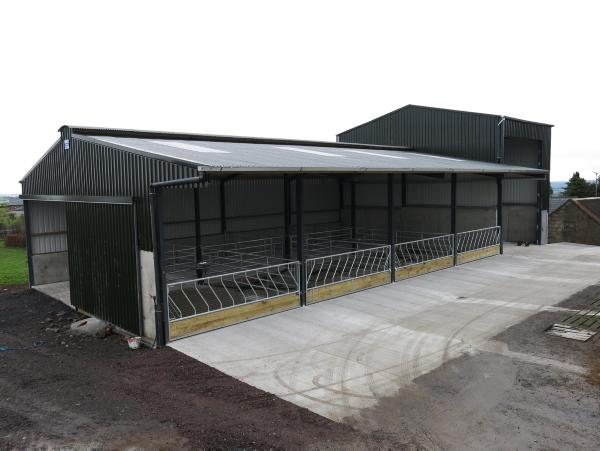 Slatted Shed And Feed Store  bination 153257 on lean to sheds ireland