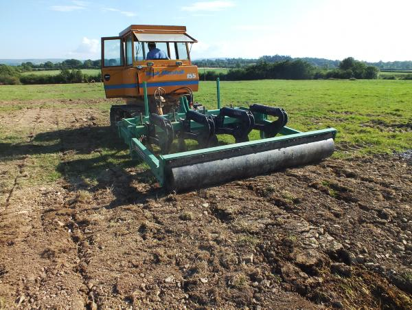 Deep drainage irish farmers journal for Soil drainage system