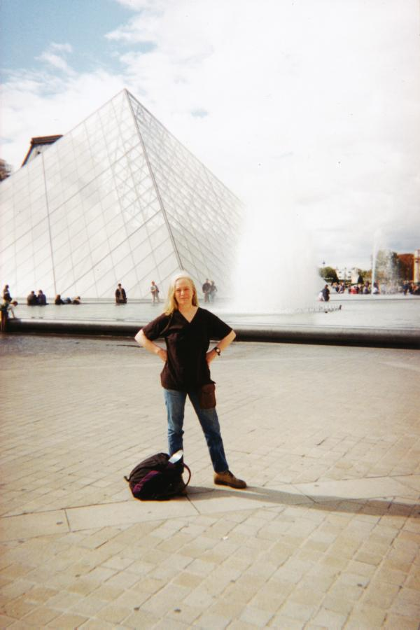 A cheesemaker in Paris: Veronica has always loved to travel.