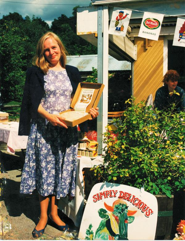 Veronica Steele, pictured at a showcase for local food at Manning's Emporium
