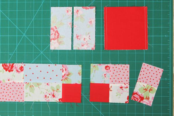 Learn how to assemble an appliqué panel and make quick patchwork
