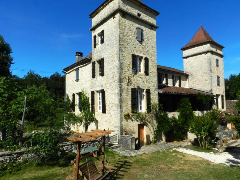 The family's new home in Domaine de Laborie