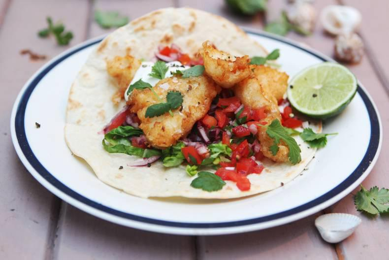 Food Friday: Crispy fish tacos with tomato salsa 11 March ...