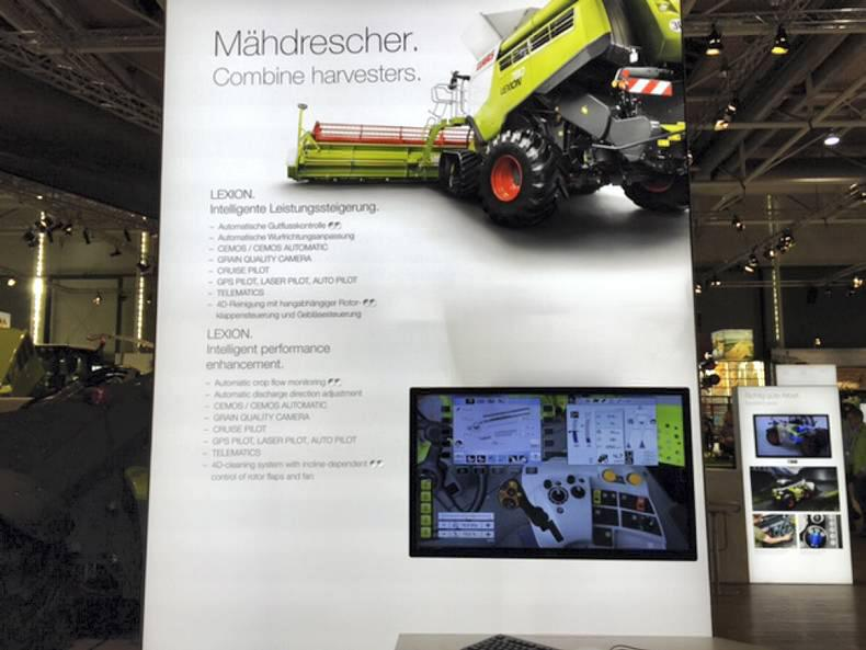 Relive the first two days of the Agritechnica machinery show 09