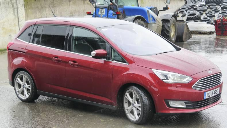 Watch: C-Max is Ford's new Grand design 25 February 2016 Premium