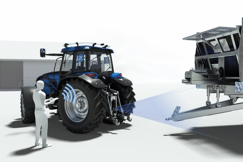 Tractor Trailer Driveline : Zf innovation tractor brings tablet control and greater