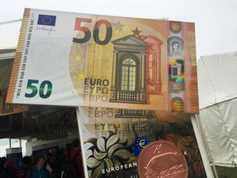 Ploughing exclusive: the new €50 note