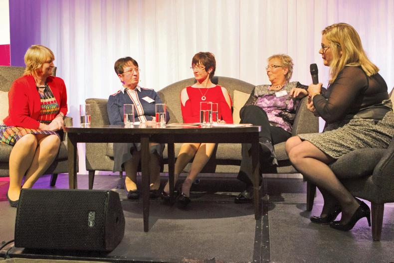 On the Couch: Katherine O'Leary speaks with Ann Kehoe, Geraldine O'Donnell, Maura Canning and Betty Murphy.
