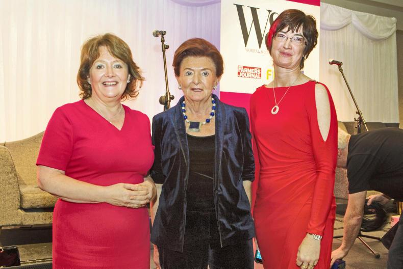 Mairead Lavery, editor of Irish Country Living, Breege O'Donoghue, Primark, and Maura Canning, National chair of the IFA farm family and social affairs committee.