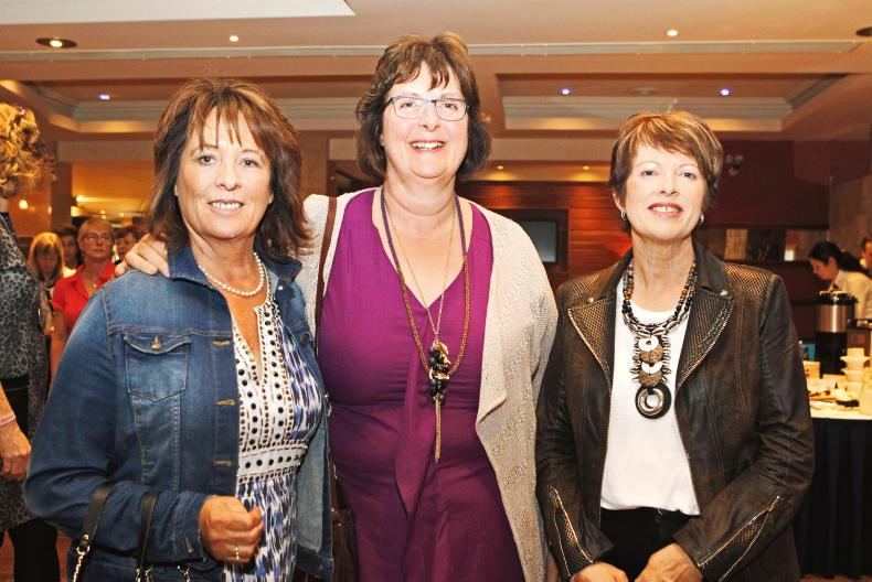 Pictured at the conference were: Breege Duggan, Claremorris; Margaret Leahy, Inverin; and Patricia O'Regan, Balinteer, Co Cork.