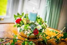 In pictures: Festive flower arranging with Maura Sheehy