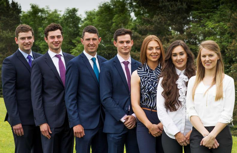 HRI interns 2016 (left to right): Matthew Collins, Christian Dodd, Mark Nagle, Peppe Orlandi, Allison Brassil, Hannah Berry and Sarah Dempsey.