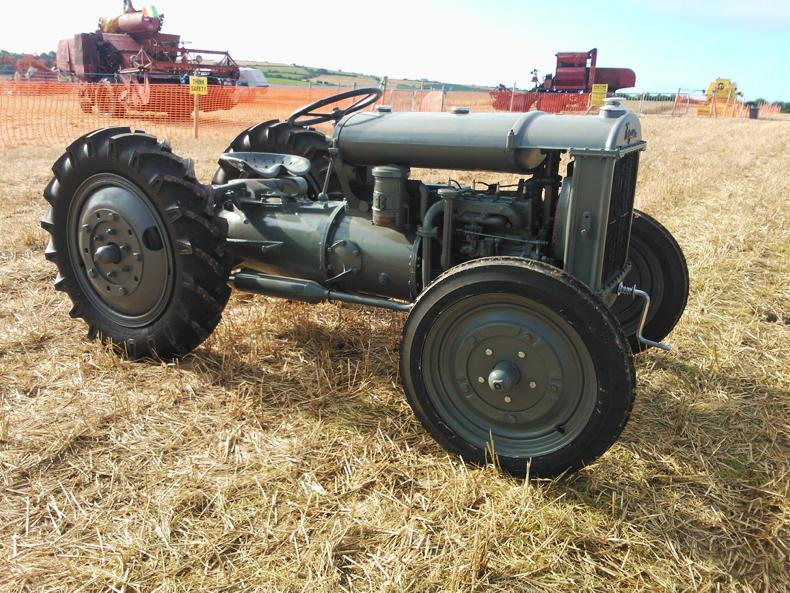 Mick Forde's rare Ferguson Brown tractor was one of the highlights at the DeCourcey Harvest event this year.