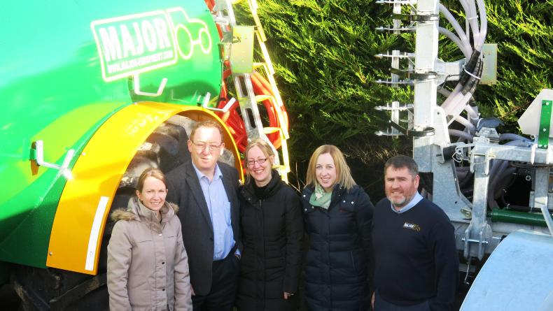 Denise McGuire export administrator; John Murphy CEO and founder; Aine Lecky, financial controller; Eibhlin Murphy, marketing coordinator; and Martin Keane, general manager.