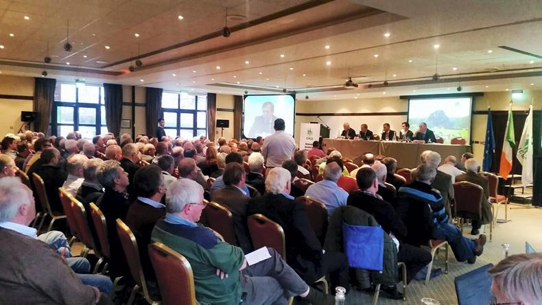 The crowd at the ICMSA AGM on Monday.