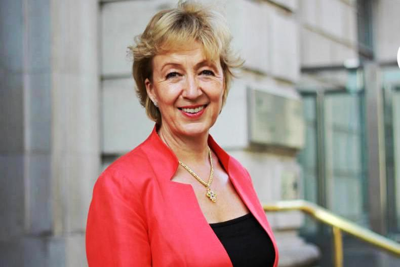 UK environment, food and rural affairs secretary Andrea Leadsom.