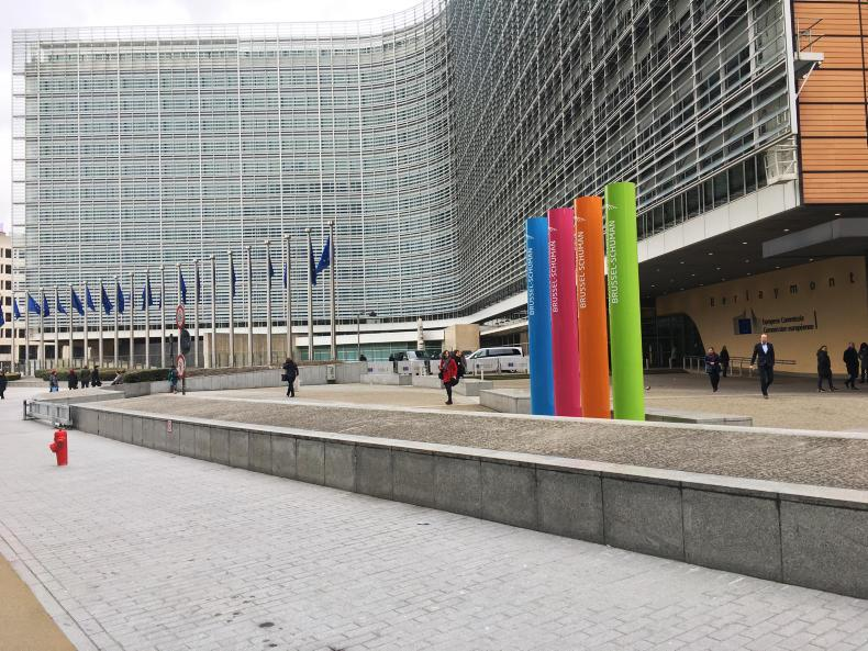 The European Commission's Berlaymont building in Brussels.