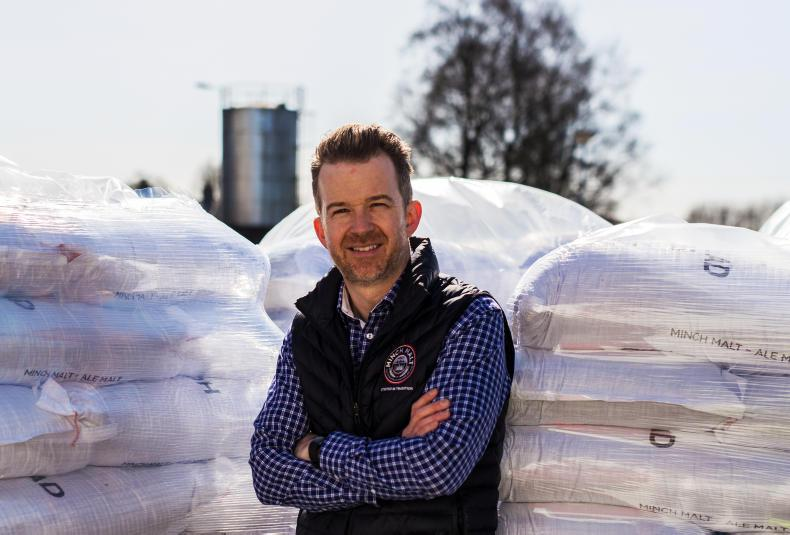 Alan Dempsey of Minch Malt, Athy, Co Kildare.