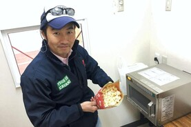 Watch: Japanese grain grower makes his own popcorn