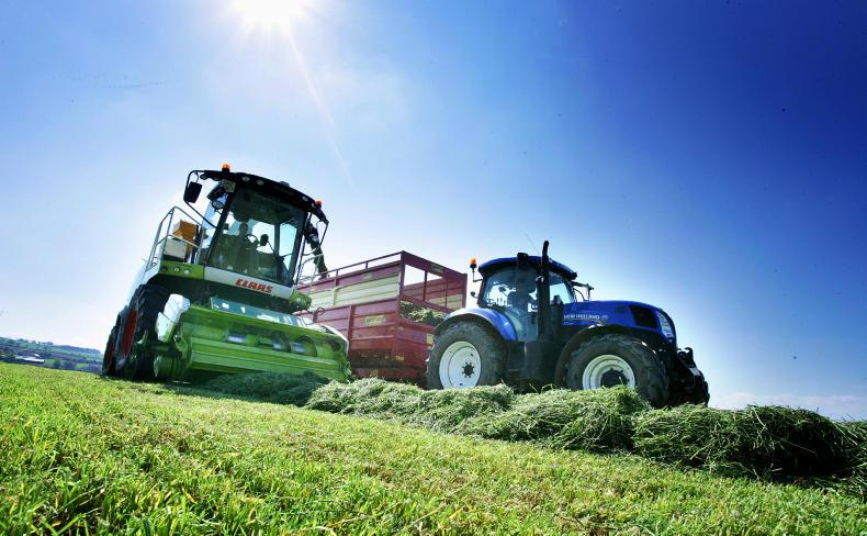 Conditions over the last two weeks have been excellent for an early cut of silage