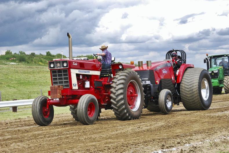 Ih Super Stock Pulling : International harvester turbo may premium