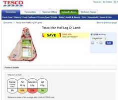 Tesco defends cheap lamb promotion