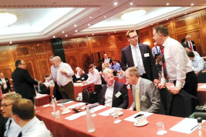 The conference was attended by representatives from across the dairy industry.
