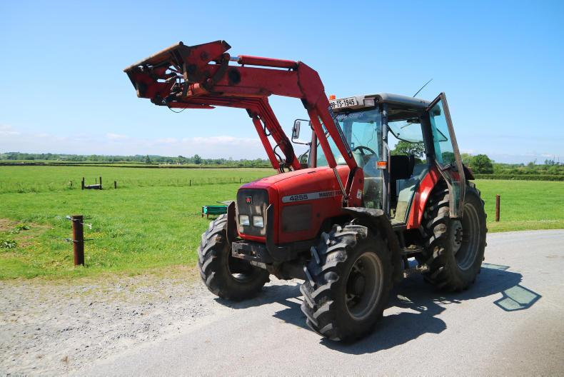 The Massey Ferguson 4255 is a firm favourite on Irish farms.