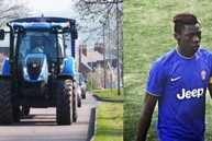 Juventus soccer star Moise Kean's €700,000 deal hinges on a tractor (or two)