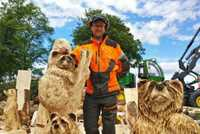 In pictures: Chainsaw carving at the Royal Highland Show