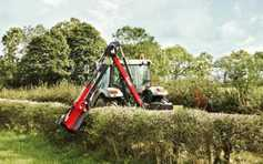 Hedge-cutting innovations at Blaney