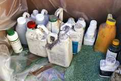Opportunities to dispose of hazardous waste products