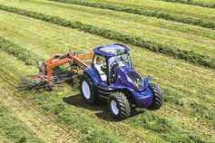 Farm-produced gas powers latest tractor technology