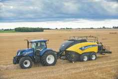 In picutres: New Holland baler big on density
