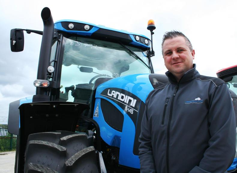 Will Doyle, national sales manager for Ireland for McCormick-Landini.
