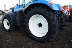 Gripping tyre options at the Ploughing