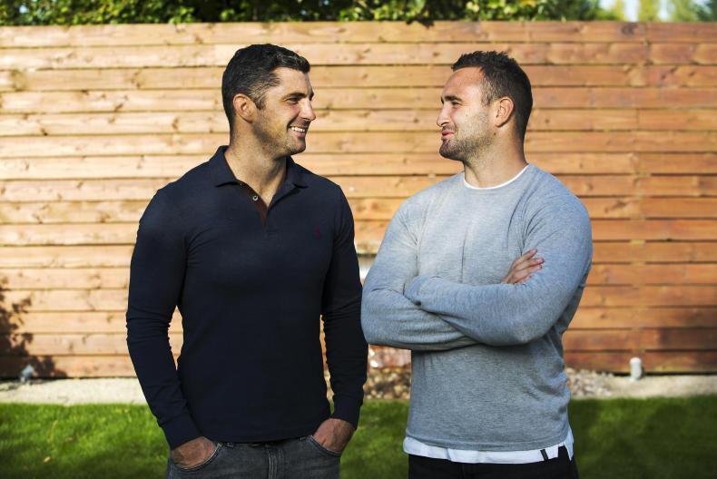 You can catch Rob and Dave Kearney at 4.15pm. \ Philip Doyle