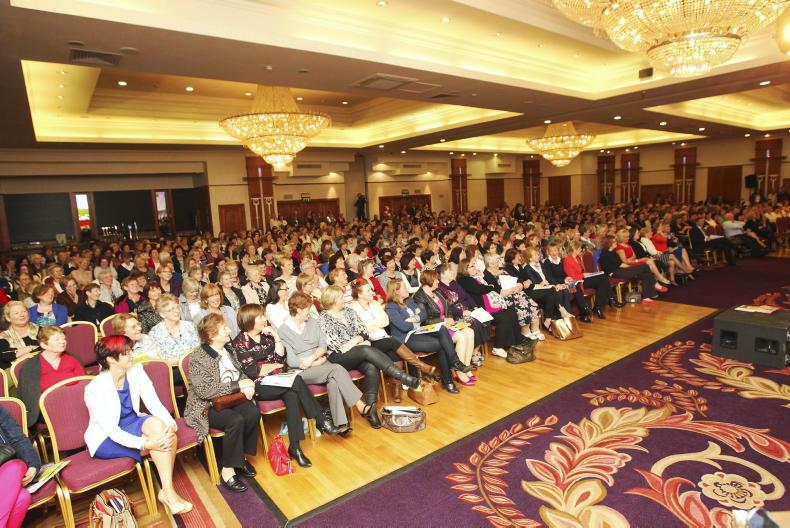 at the Women and Agriculture 2014 conference at Knightsbrook, Trim, Co Meath
