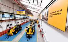 JCB celebrates 40 years of Loadall