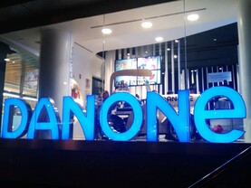 Infant formula drives Danone growth