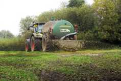 Increase in the number of farmers applying for slurry spreading extensions