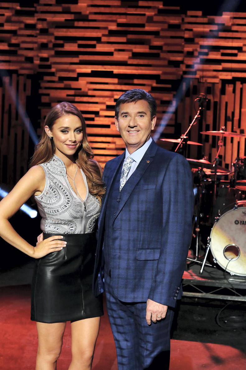 Una Healy and Daniel O'Donnell.
