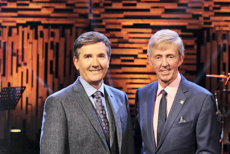 Daniel O'Donnell and Dickie Rock.