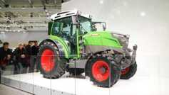 Electric machinery: plug and play at Agritechnica