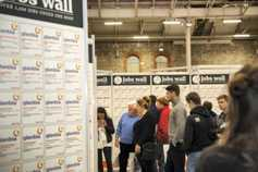 Jobs wall at Dairy Day this Thursday