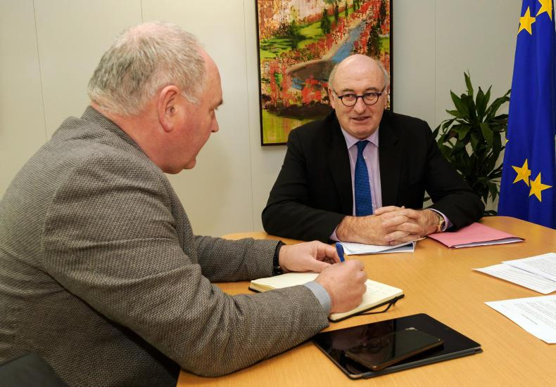 EU Agriculture Commissioner Phil Hogan speaking to Phelim O'Neill, Farmers Journal Scotland on his proposals for CAP 2020.