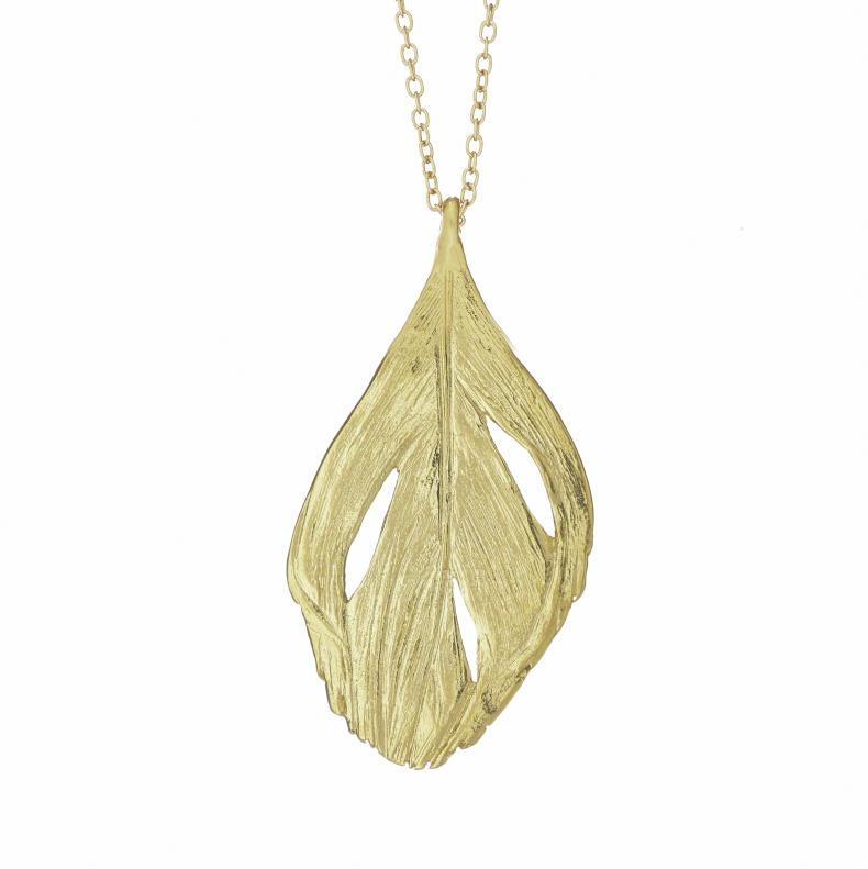 "Chupi's designs inspired by Irish nature are stunning in their simplicity. ""I can fly feather necklace"" is a beautiful example of delicacy and strength intertwined as one. It will be love at first sight. www.chupi.com €139"