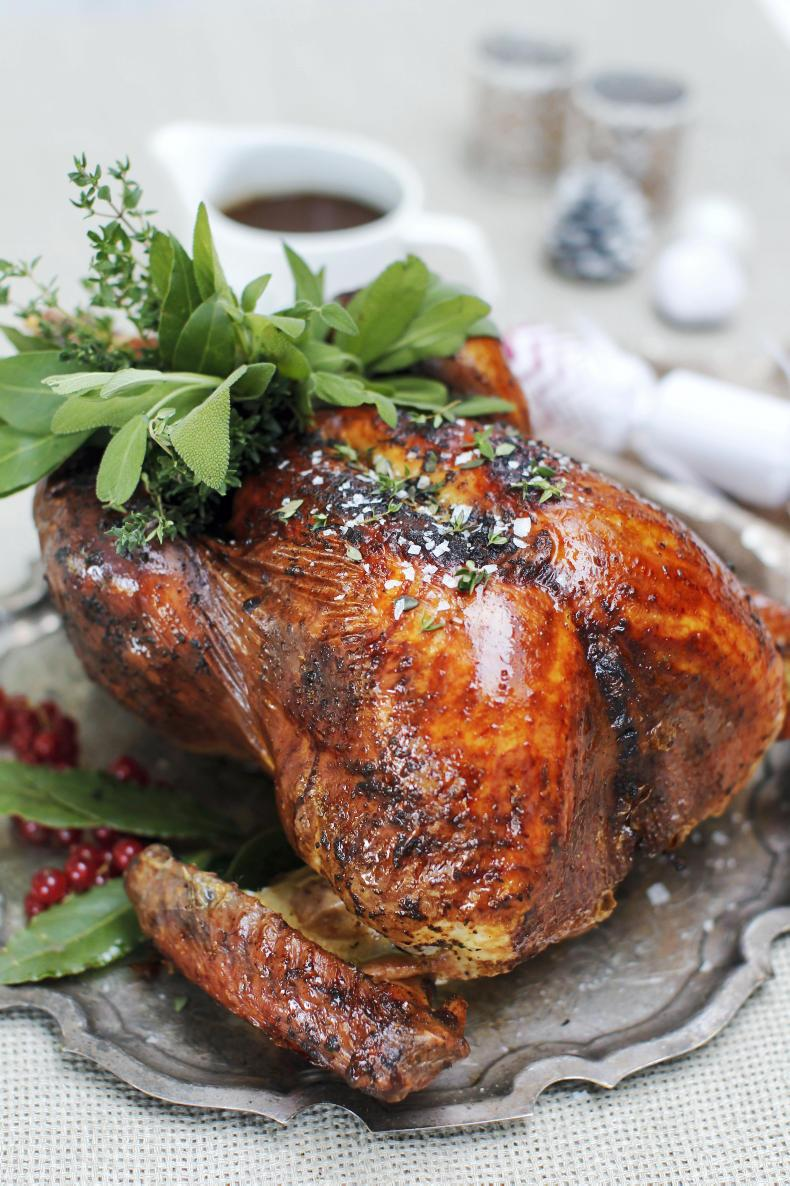 Neven Maguire's Christmas turkey. \ Styled by Sharon Hearne Smith