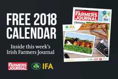 DON'T MISS your FREE 2018 calendar inside this week's Irish Farmers Journal